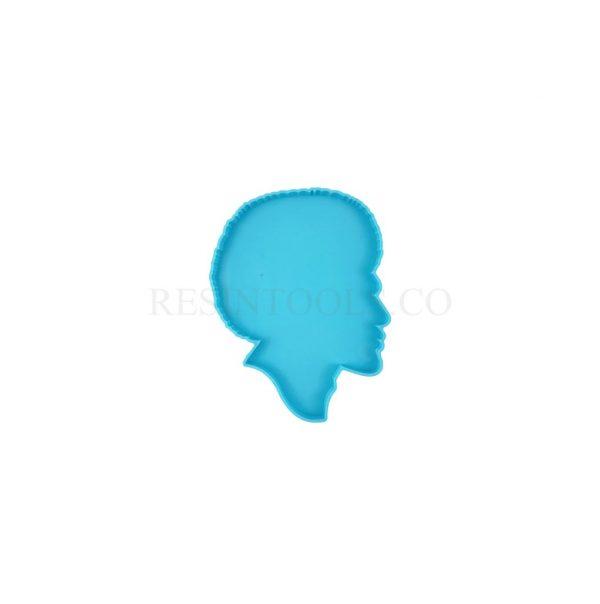Man Face Coaster - RESINTOOLS.CO