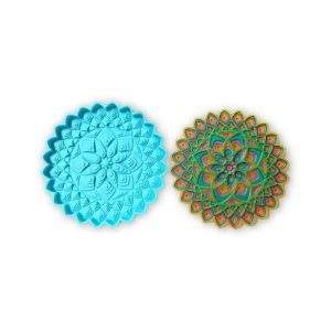 Flower Series COaster - Resintools.co