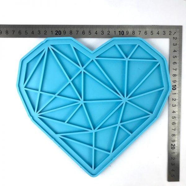 Heart Tray Measurment - RESINTOOLS.CO