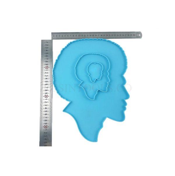 Man Face Set Measurment - RESINTOOLS.CO