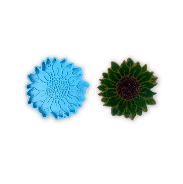 Sunflower Coaster - RESINTOOLS.CO