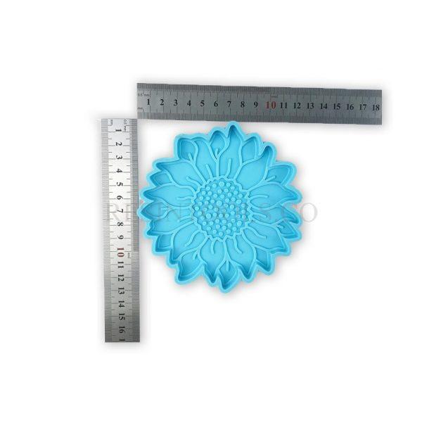 Sunflower coaster1 - Resintools.co