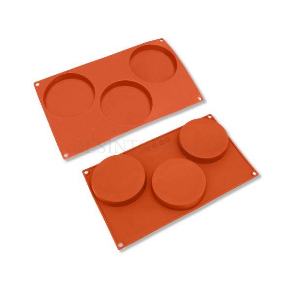 3 Coaster Mold - RESINTOOLS.CO