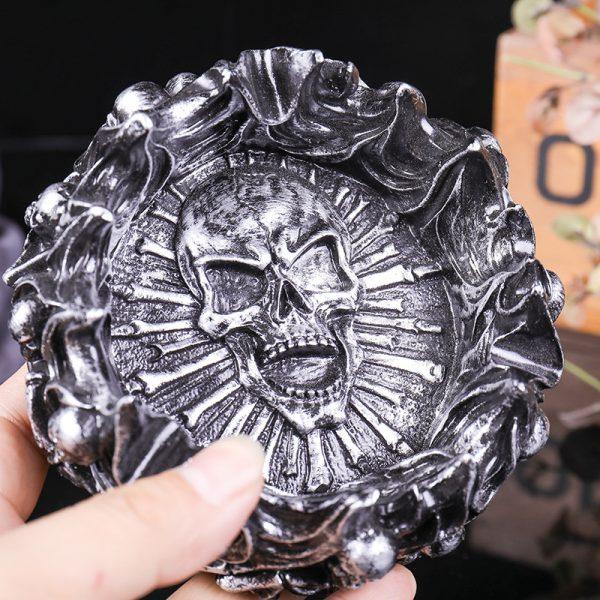 Skull Ashtray 2 - Resintools.co