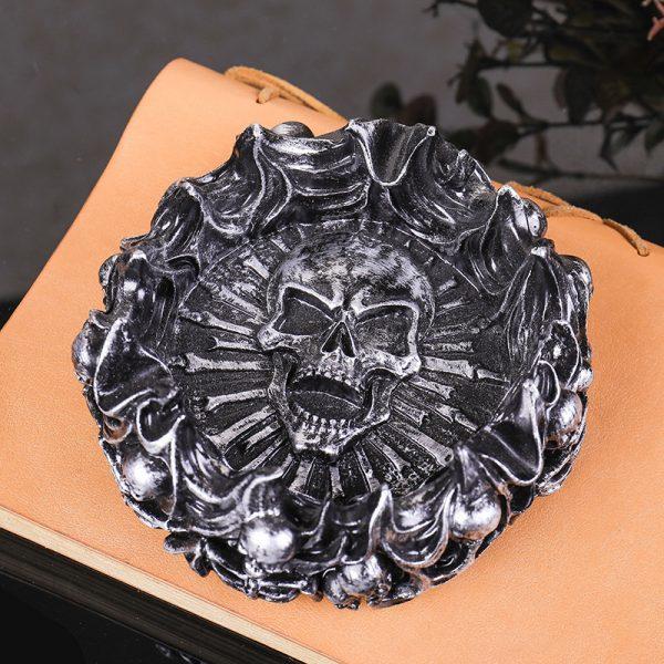 Skull Ashtray 3 - Resintools.co