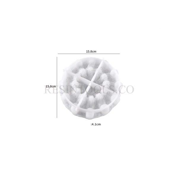 3D Ashtray Skull Mold 1 - Resintools.co