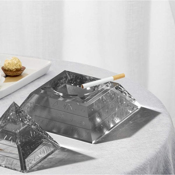 Pyramid Ashtray - Resintools.co