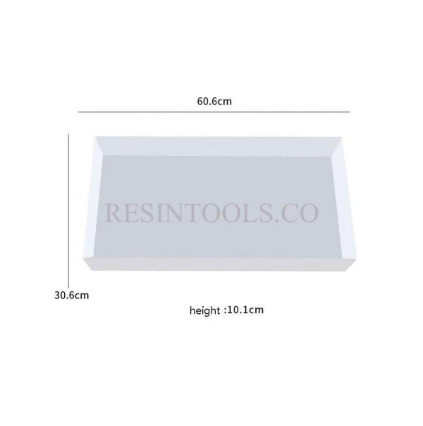 Side Table Mold Measurment - Resintools.co