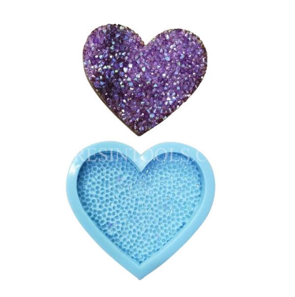 Shiny Heart shape 1 - Resintools.co