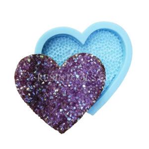 Shiny Heart shape - Resintools.co