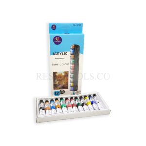 12 Acrylic Colors - Resintools.co